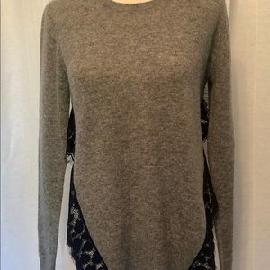 Aqua 100% Cashmere Sweater.